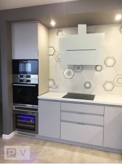 Современная дизайнерская кухня (Киев)