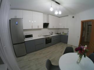 Кухня с крашеными фасадами МДФ для Александра и Александры (Киев)